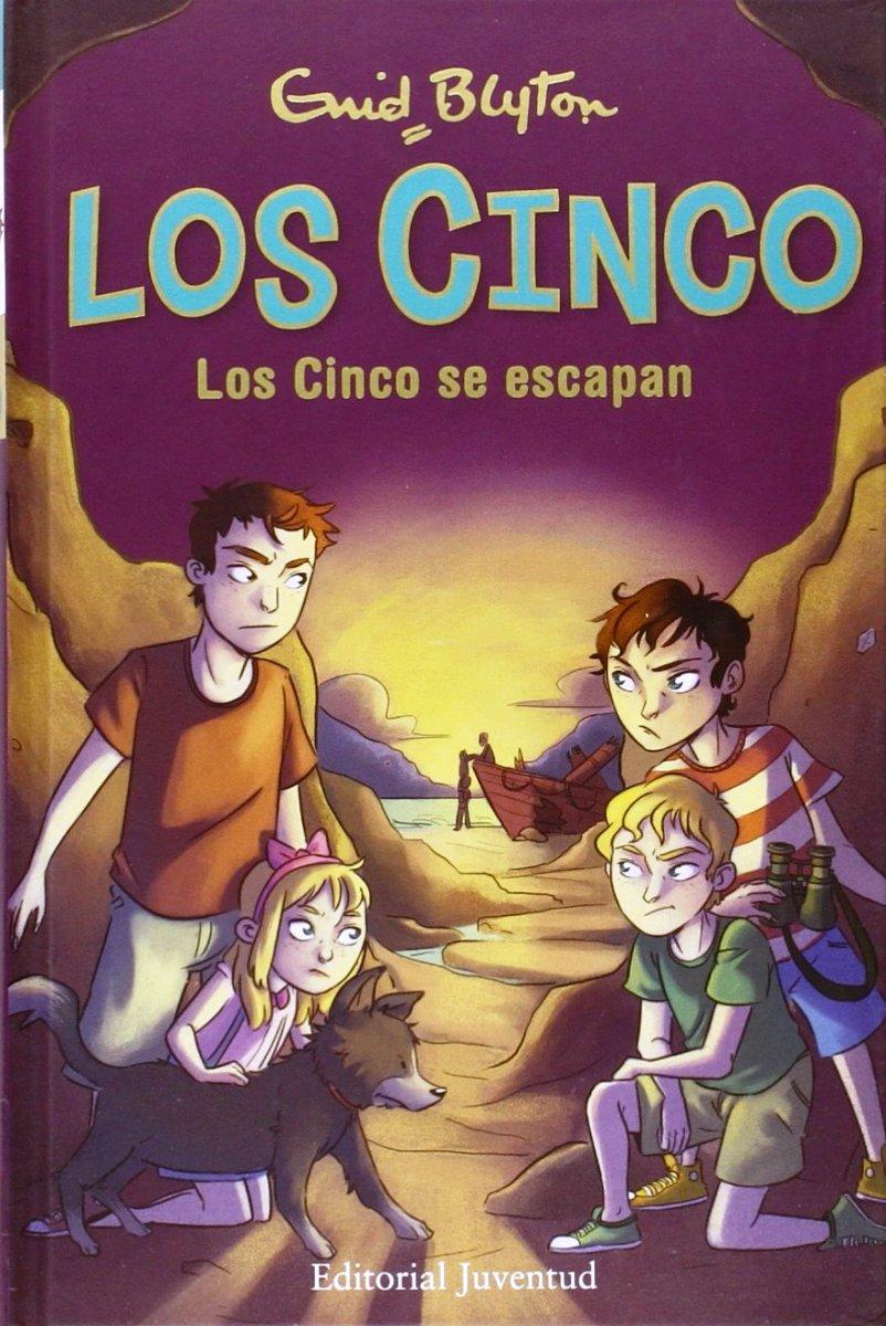 LOS CINCO SE ESCAPAN (3) (TD)