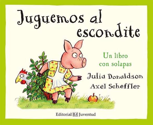 JUGUEMOS AL ESCONDITE - LIBRO CON SOLAPAS