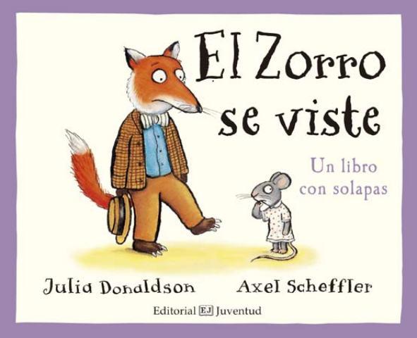 EL ZORRO SE VISTE - LIBRO CON SOLAPAS