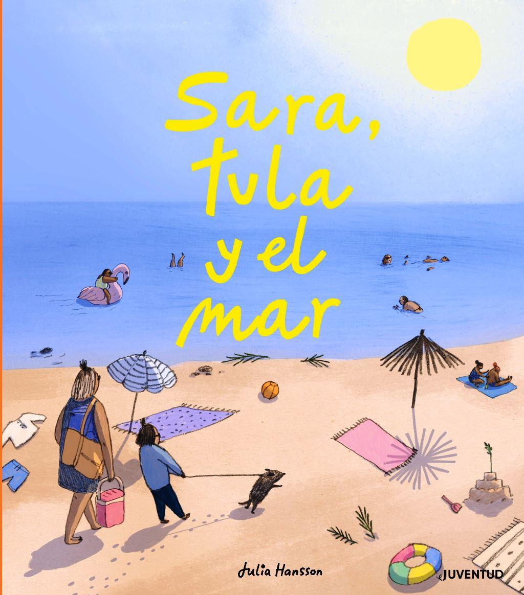 SARA , TULA Y EL MAR