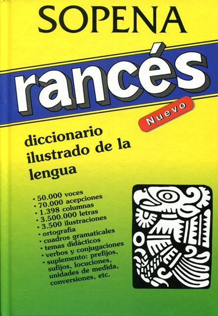 RANCES NUEVO DICCIONARIO ILUSTRADO DE LA LENGUA