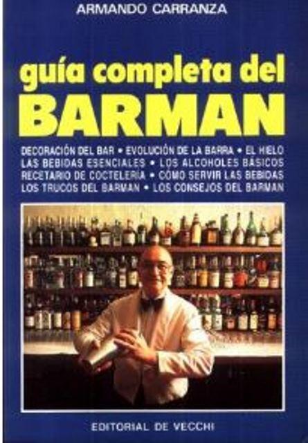 GUIA COMPLETA DEL BARMAN