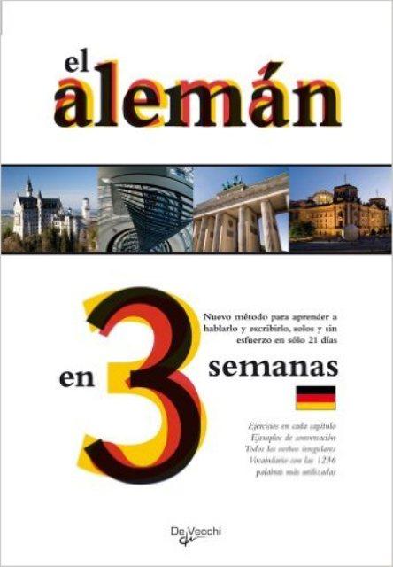 EL ALEMAN EN 3 SEMANAS