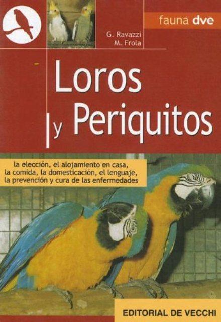 LOROS Y PERIQUITOS - ANIMALES EN CASA