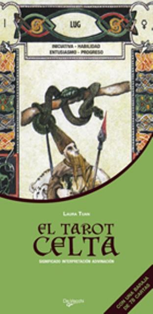 EL TAROT CELTA . C/BARAJA DE 78 CARTAS