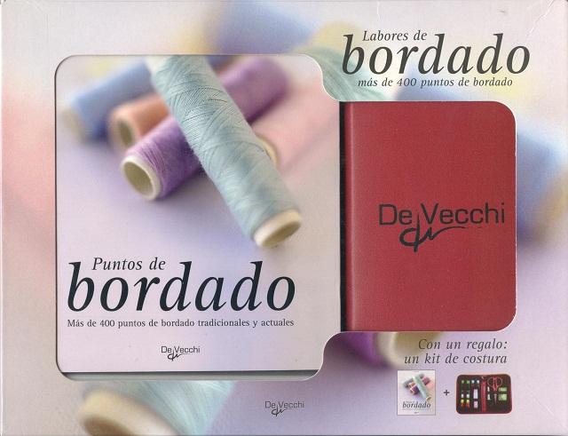 LABORES DE BORDADO C/REGALO KIT DE COSTURA