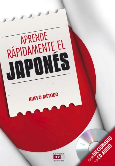 JAPONES Y DICCIONARIO APRENDE RAPIDAMENTE C/CD . NUEVO METODO
