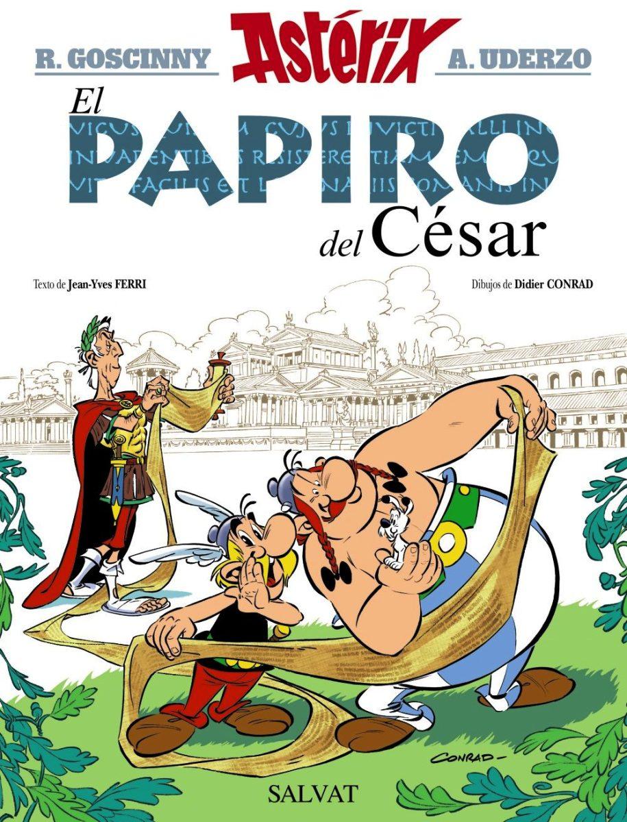 ASTERIX : EL PAPIRO DEL CESAR