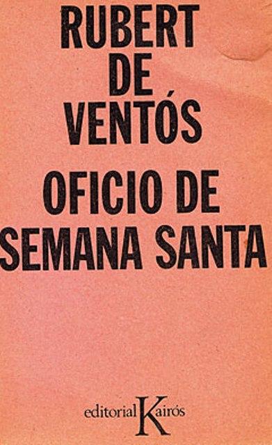 OFICIO DE SEMANA SANTA
