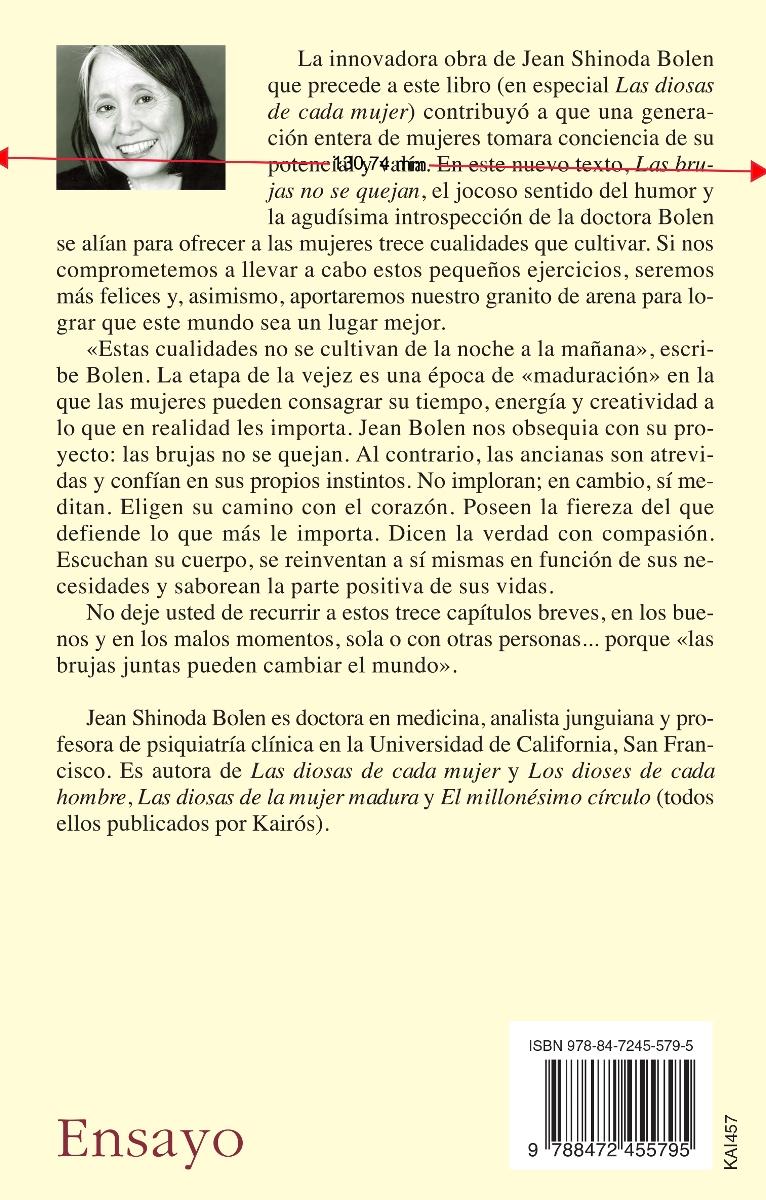 LAS BRUJAS NO SE QUEJAN (ED.ARG.)