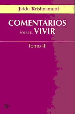 COMENTARIOS SOBRE EL VIVIR T. III