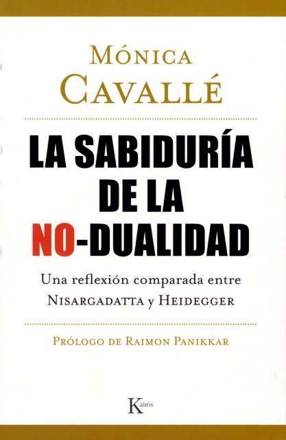SABIDURIA DE LA NO - DUALIDAD