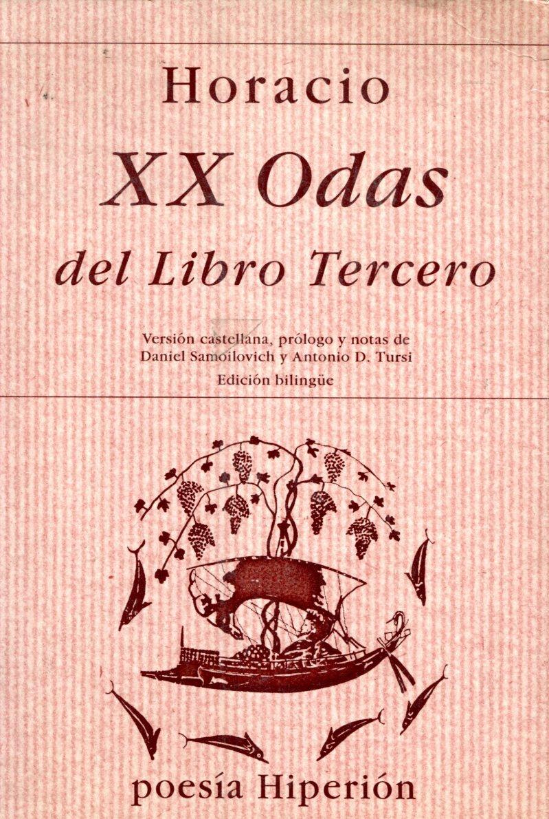 XX ODAS DEL LIBRO TERCERO