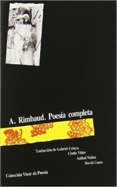 POESIA COMPLETA . A. RIMBAUD