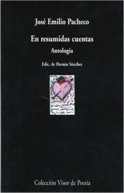 EN RESUMIDAS CUENTAS . ANTOLOGIA