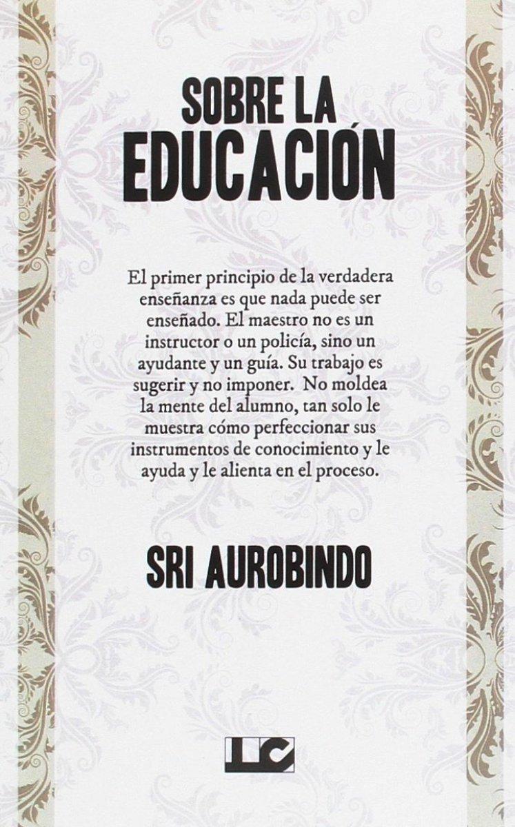 SOBRE LA EDUCACION