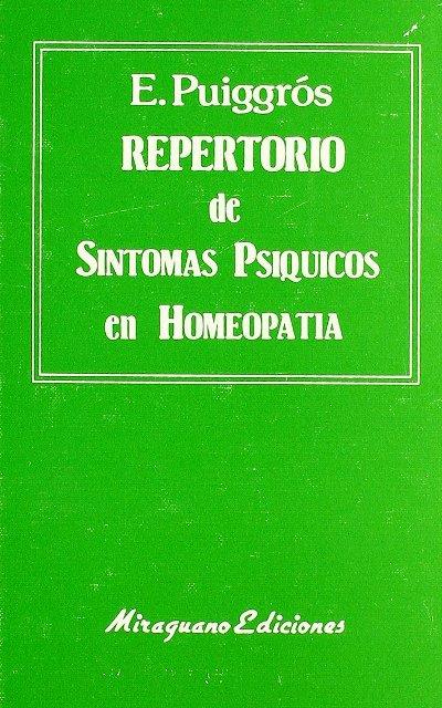 REPERTORIO DE SINTOMAS PSIQUICOS EN HOMEOPATIA