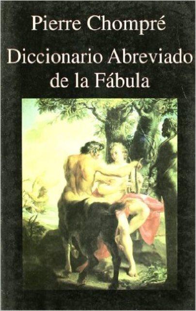 DICCIONARIO ABREVIADO DE LA FABULA