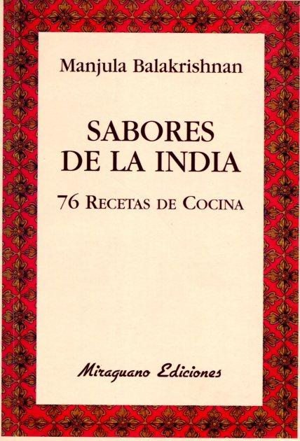SABORES DE LA INDIA . 76 RECETAS DE COCINA