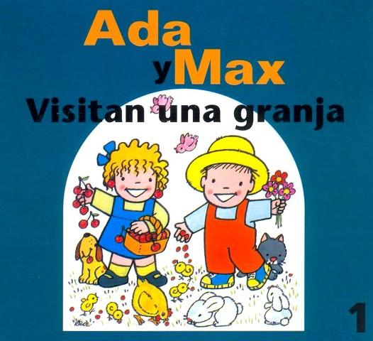 VISITAN UNA GRANJA ADA Y MAX
