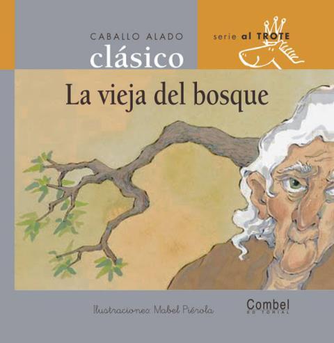LA VIEJA DEL BOSQUE . CABALLO ALADO CLASICO