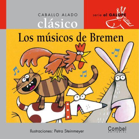 LOS MUSICOS DE BREMEN . CABALLO ALADO CLASICO