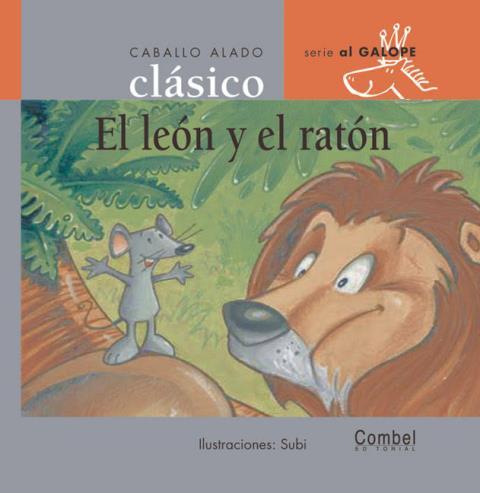 EL LEON Y RATON . CABALLO ALADO CLASICO