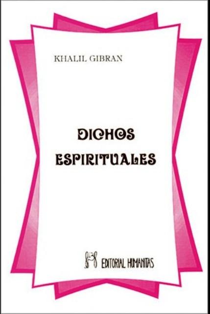 DICHOS ESPIRITUALES