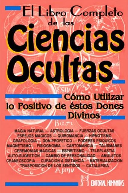 LIBRO COMPLETO DE LAS CIENCIAS OCULTAS