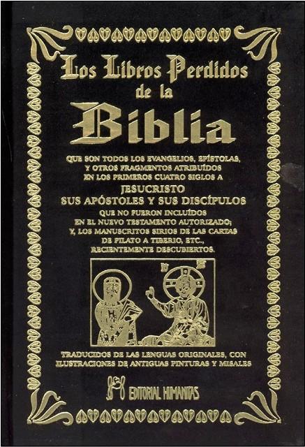 LOS LIBROS PERDIDOS DE LA BIBLIA (T)