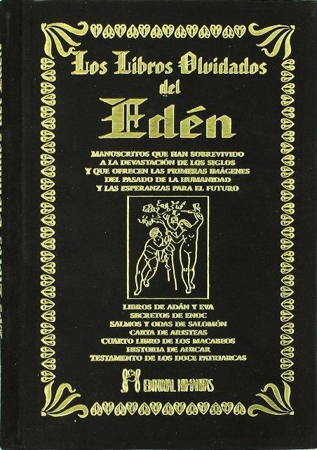 LOS LIBROS OLVIDADOS DEL EDEN (T)