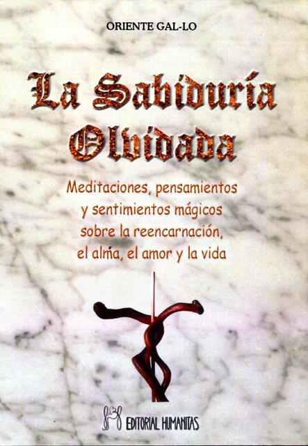 LA SABIDURIA OLVIDADA