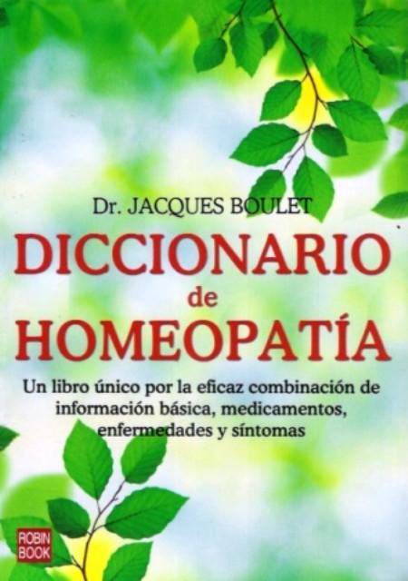 DICCIONARIO DE HOMEOPATIA