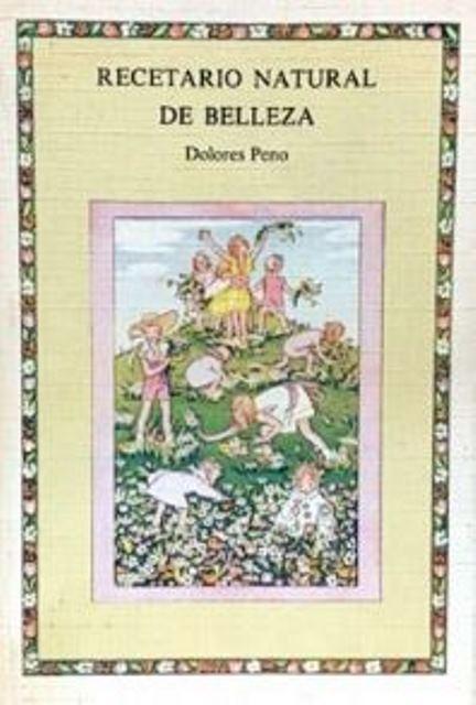 RECETARIO NATURAL DE BELLEZA (D)