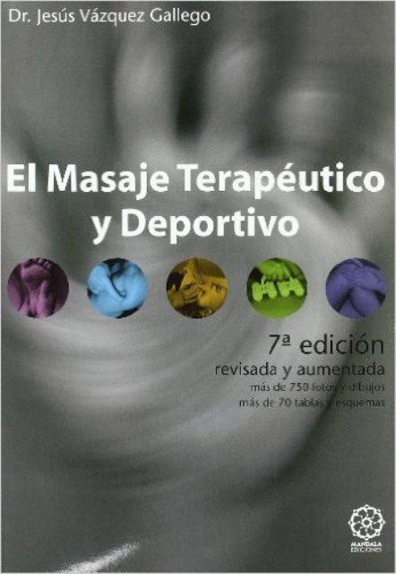 EL MASAJE TERAPEUTICO Y DEPORTIVO