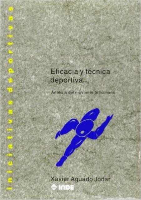 EFICACIA Y TECNICA DEPORTIVA