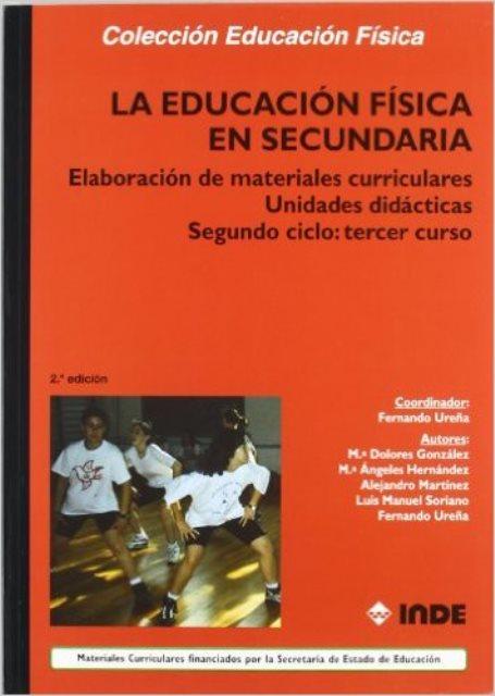 SEGUNDO CICLO : TERCER CURSO ELABORACION MATERIALES CURRICULARES UNID.DIDACT.