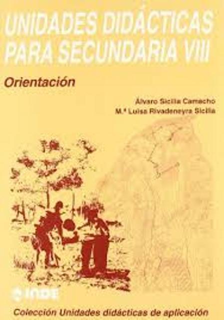 T.VIII UNIDADES DIDACTICAS PARA SECUNDARIA - ORIENTACION