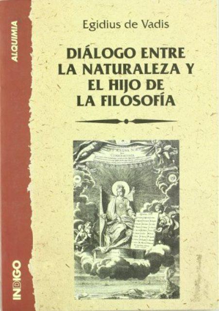DIALOGO ENTRE LA NATURALEZA Y EL HIJO DE LA FILOSOFIA