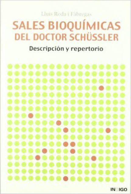 SALES BIOQUIMICAS DEL DOCTOR SCHUSSLER