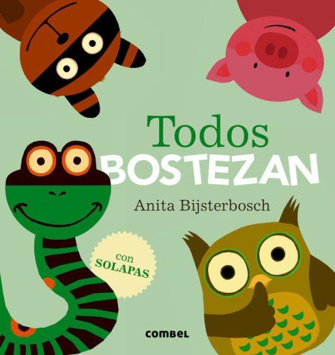 TODOS BOSTEZAN . (CON SOLAPAS)