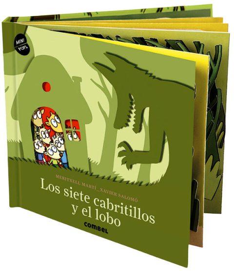 LOS SIETE CABRITILLOS Y EL LOBO (MINI POPS)