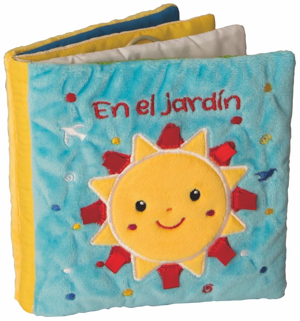 EN EL JARDIN . LIBRO TELA
