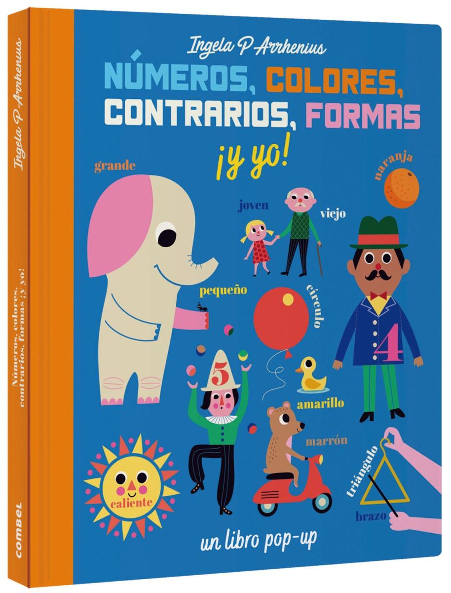 NUMEROS , COLORES , CONTRARIOS , FORMAS Y YO !