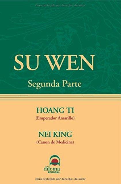 SU WEN - SEGUNDA PARTE