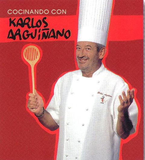 COCINANDO CON KARLOS ARGUIÑANO