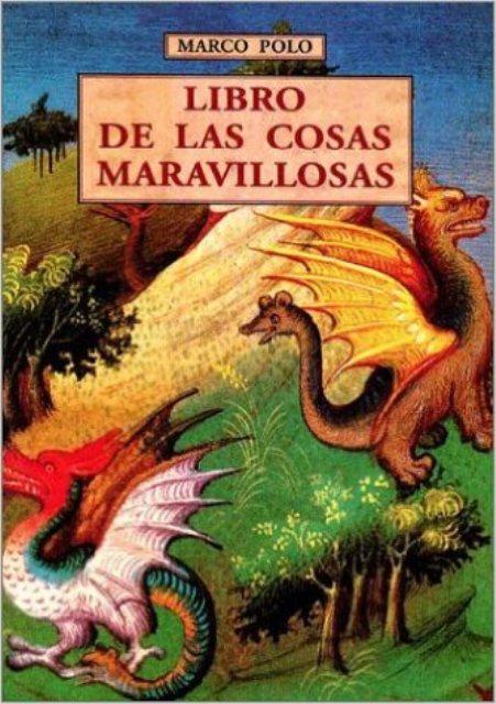 LIBRO DE LAS COSAS MARAVILLOSAS