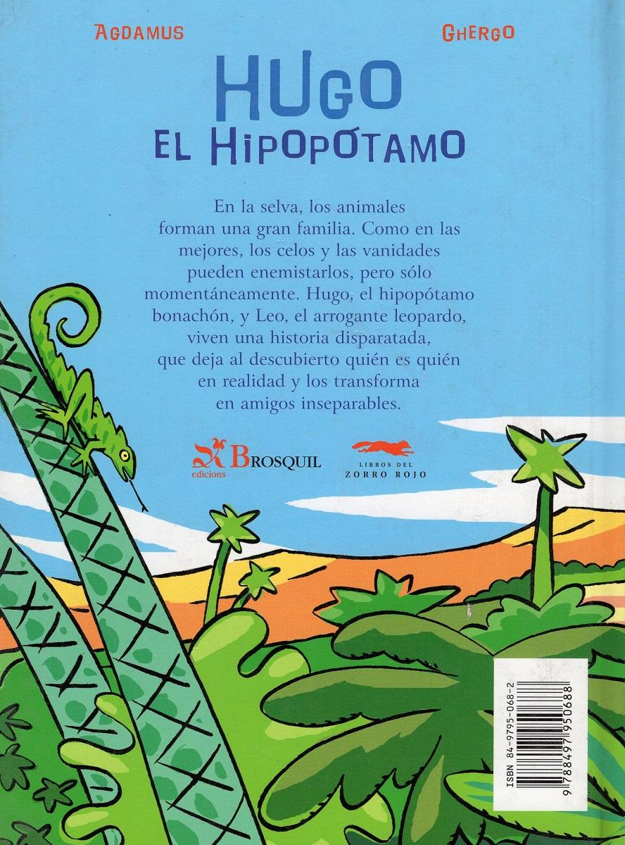 HUGO EL HIPOPOTAMO , CONFUSION EN LA SELVA (TD)