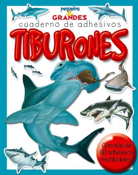TIBURONES CUADERNO DE ADHESIVOS