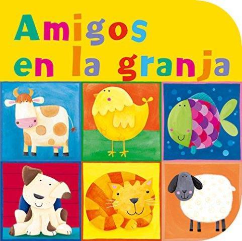 AMIGOS EN LA GRANJA LIBRO C/ROMPECABEZAS (D)